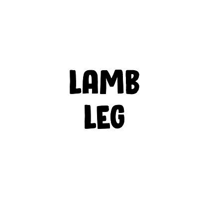 Grass Fed Lamb Leg | DIY