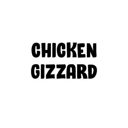 Probiotic Chicken Gizzard   DIY