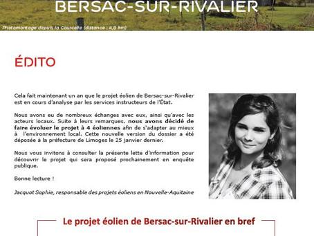Lettre d'information n°4 (Mars 2019)