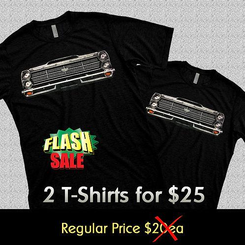 Fairlane T-Shirt - Short Sleeve 2x$25
