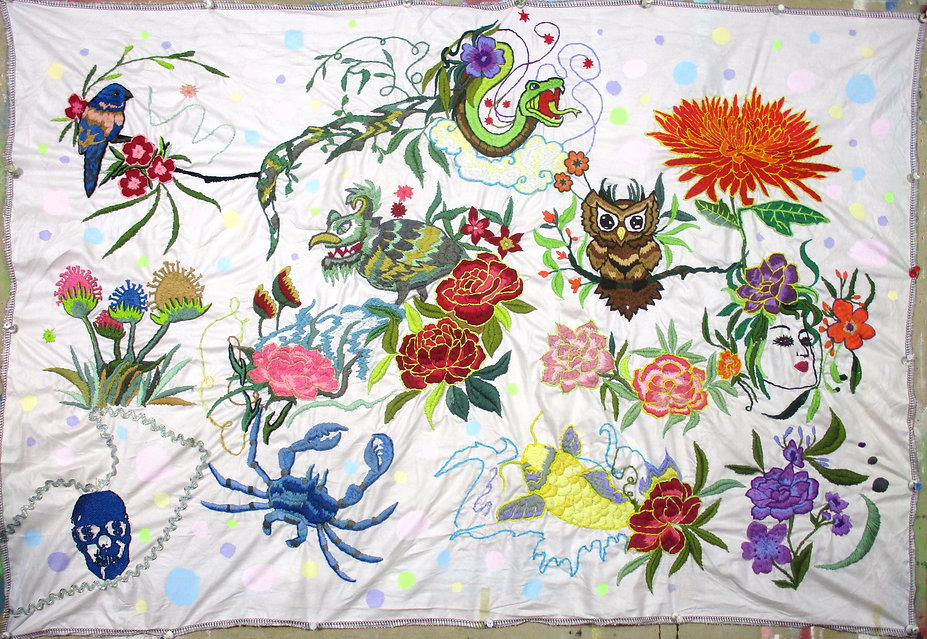 Hand embroidery art $4000