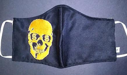 Embroidery Skull money eyes $4