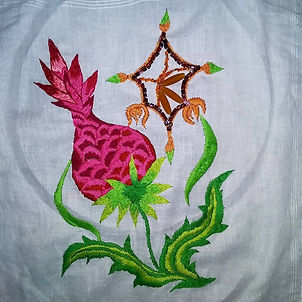 Hand embroidery art $100