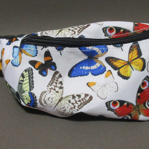 Butterfly Print Side Pack