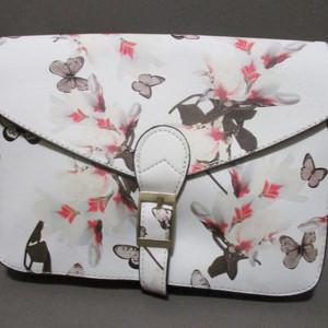 Blossom Hand Bag (White)