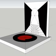 Digital Sculpture 1 (Material Contemplation)