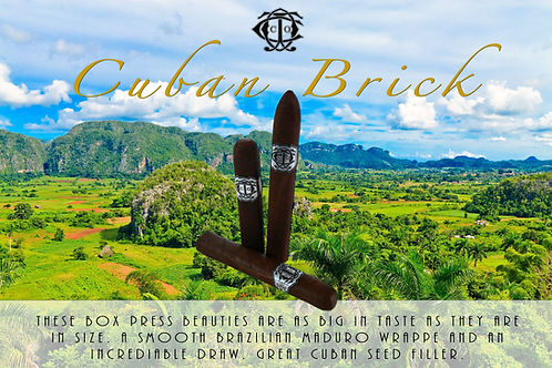 Cuban Brick by: OCC