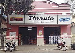 Loja de tintas Tinauto em Caratinga.