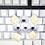Thumbnail: iKBC 108 White Backlit Doubleshot ABS Keycaps