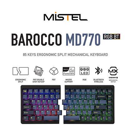 Mistel MD770RGB BT Wireless Split Mechanical Keyboard