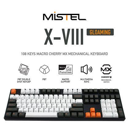 Mistel X-VIII Macro Mechanical Keyboard, Gloaming