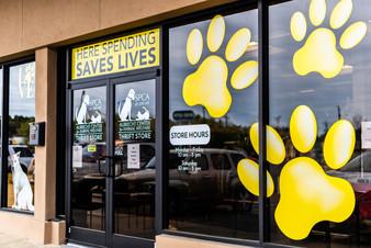 Where Shopping Saves Lives!