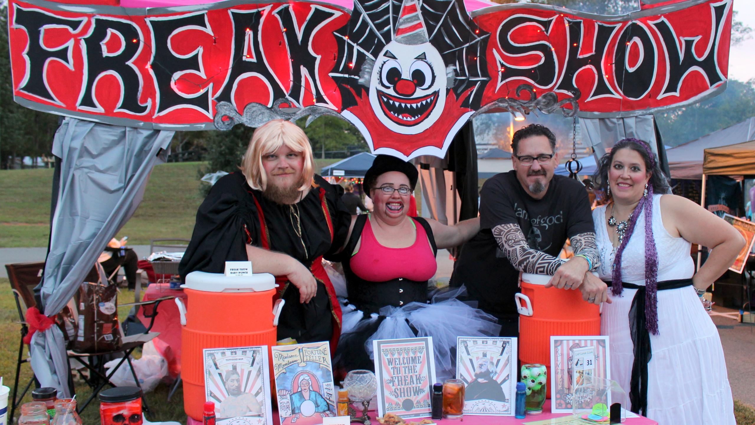 Freak Show Booth