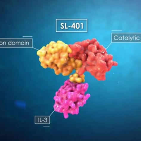 Lipid bilayer antigen antibody animation