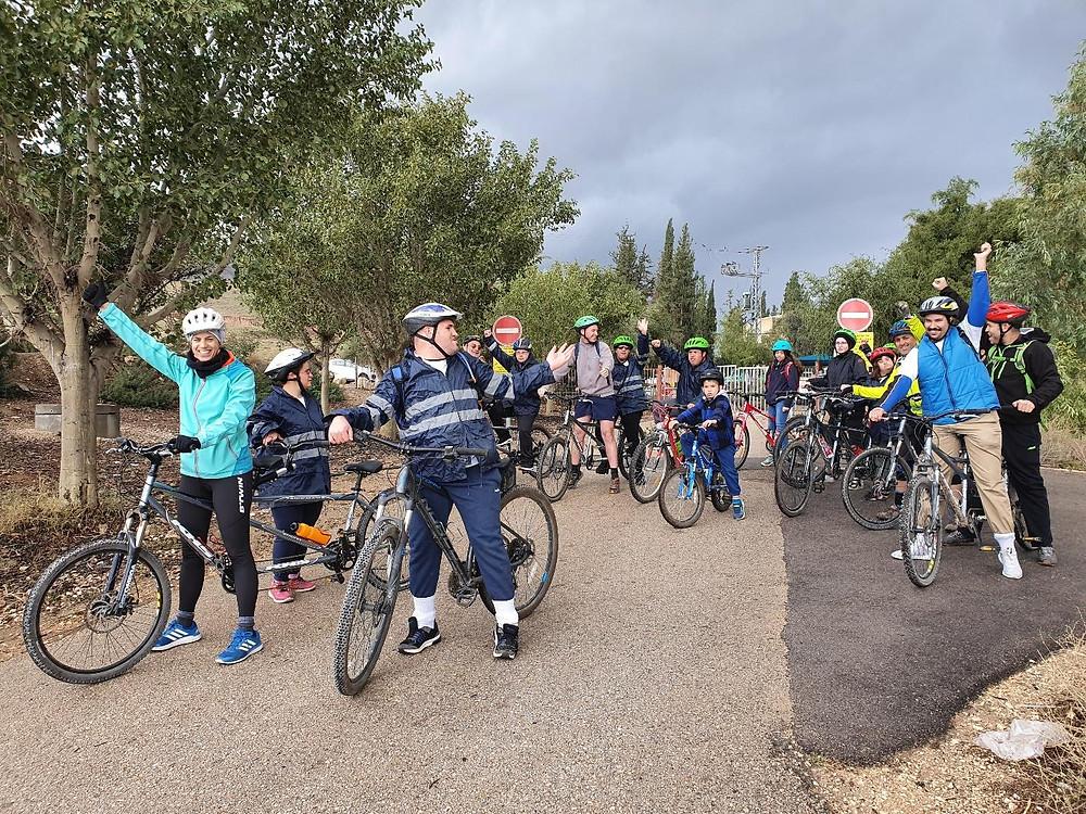 ״רוכבי המעיינות״ - חוג אופניים לבעלי מוגבלויות