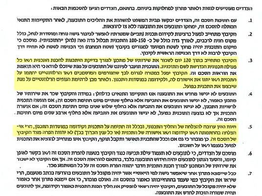 קיבוץ ניר דוד קיים את חלקו בהסכם הפשרה מ- 2016 ומחכה לאישור הרשויות