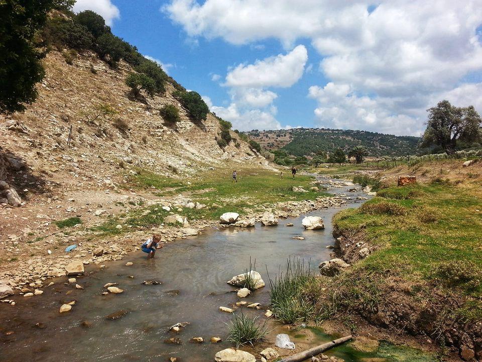 צילום של אפיק מים צולם על ידי רינת ירדן