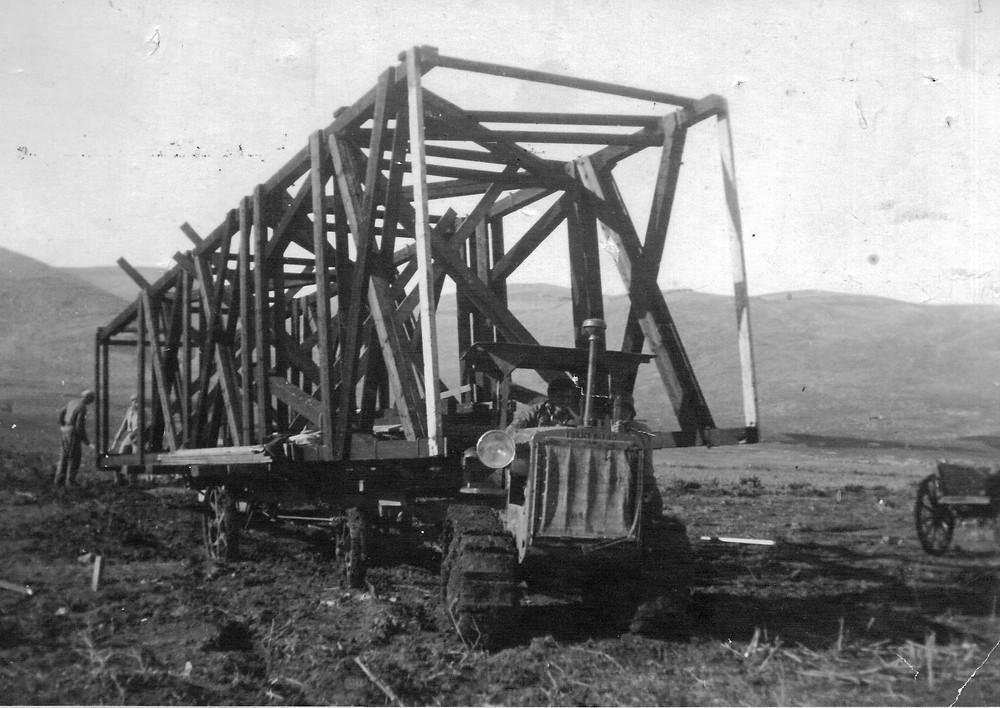 מבצע העלייה לקרקע בשיטת חומה ומגדל הראשון בארץ. 10 בדצמבר 1936