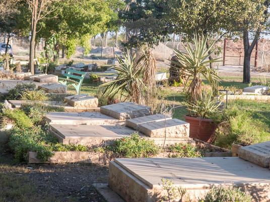 בית העלמין של קיבוץ ניר דוד הוקם לפני קום המדינה כשנחל האסי היה אפיק פראי שורץ קדחת