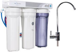 Фильтр для очистки воды на кухне