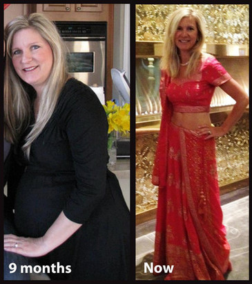Dawn has a baby in her 40s and gets into the best shape of her life afterwards