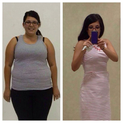Amber loses 50lbs preparing for her wedding