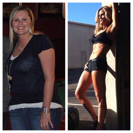 Felicia drops 50lbs and does a fitness competition