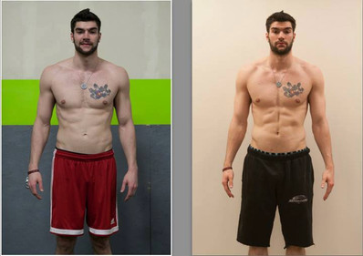 Jakob gains muscle and cuts in in just 4 weeks