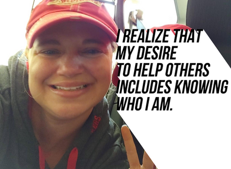 My Desire to Help Other Includes Knowing Who I Am