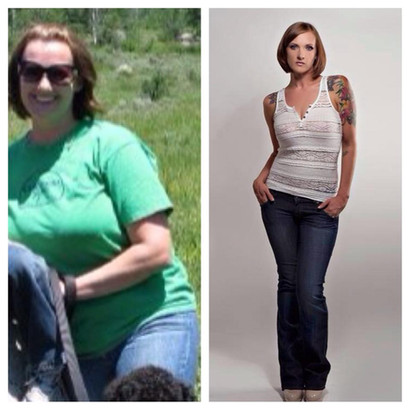 Janae loses over 100lbs