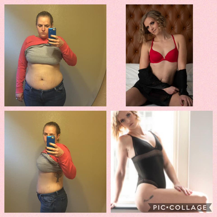 102 lb Weight Loss and Lingerie Photoshoot
