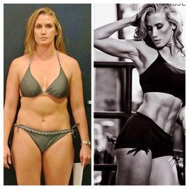 Danielle reduces time in gym and focuses on nutrition