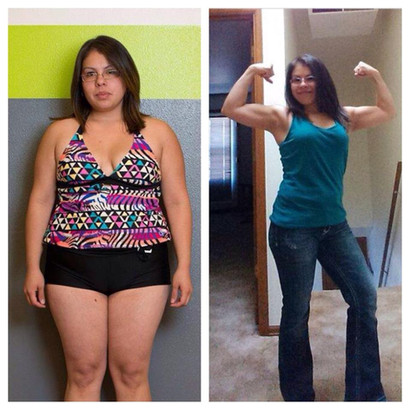 45lb loss leads to confidence