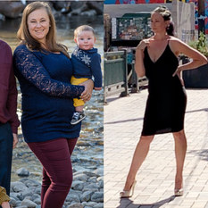 Momma loses 105lbs to Prepare for Next Pregnancy