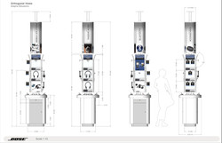 Bose floor unit