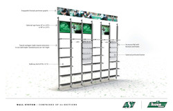 Wall racking system