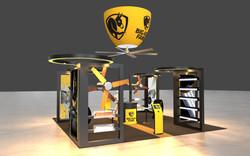 Big Ass Fans Booth Concept