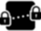 End-to-end encryption icon