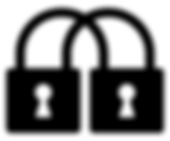 Double lock icon