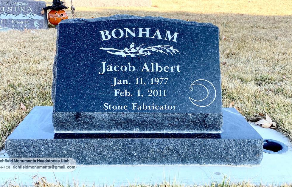 Albert Slant Headstone