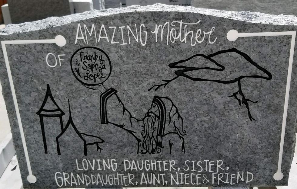 Slant Headstone