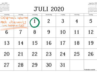 Wat kan er meer na 1 juli?