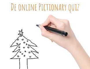 De online Pictionary kerstquiz_dtevents.