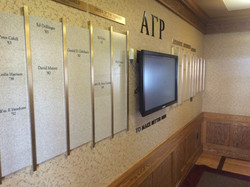 New donor wall.