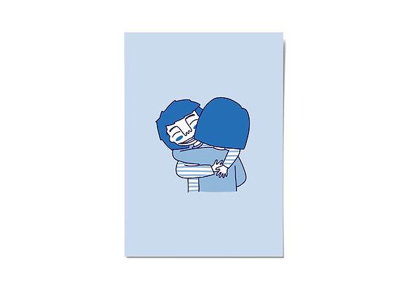 Kaartje - knuffel