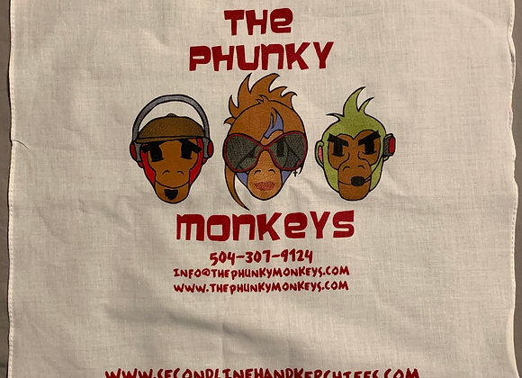 Phunky Monkey Second Line Hanky