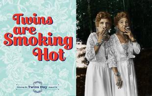 Smokin hot elder twins