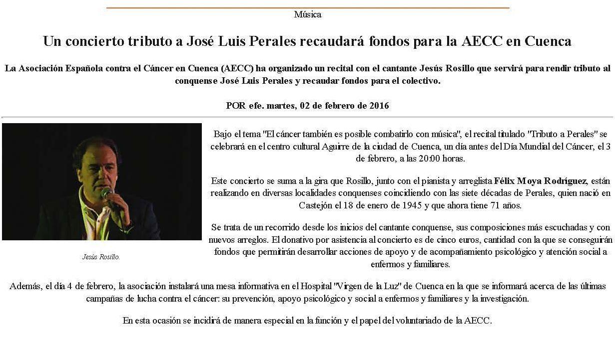 Un_concierto_tributo_a_Perales_recaudará_fondos_para_la_AECC_en_Cuenca