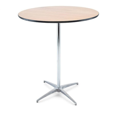 "30"" Round High Top Cocktail Table"