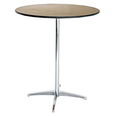 "36"" Round High Top Cocktail Table"